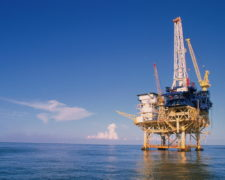 Offshore drilling rig, Gulf of Mexico